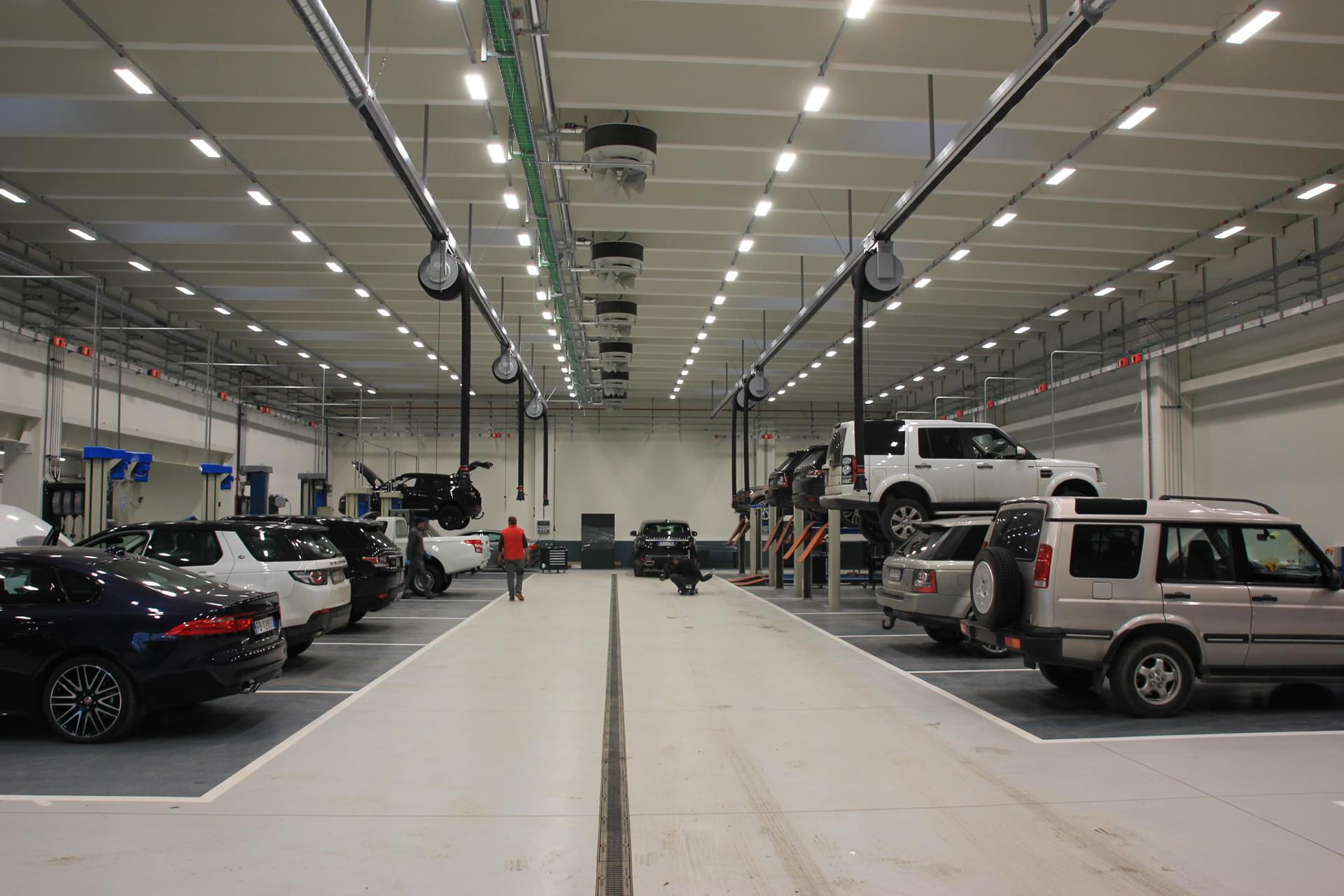 WORKY and Jaguar Land Rover: a prestigious new installation